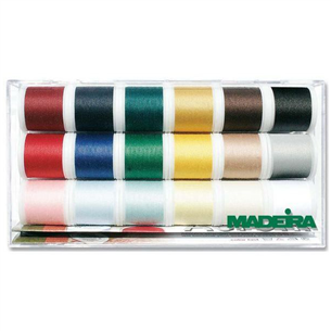 Õmblusniidid Madeira 18 tk. Z2497