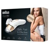 Fotoepilaator Braun Silk-expert Pro 5 + Venus Extra Smooth raseerija + Kosmeetikakott