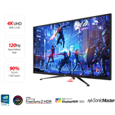 43 Ultra HD LED VA-monitor ASUS