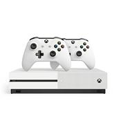 Mängukonsool Microsoft Xbox One S (1TB) + 2 pulti
