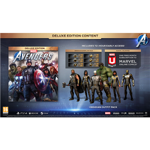 Xbox One / Series X/S game Marvel's Avengers: Deluxe Edition