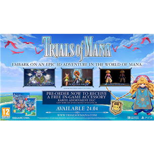 Switch mäng Trials of Mana