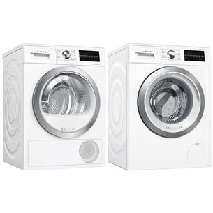 Washing machine + dryer Bosch (9 kg / 9 kg)