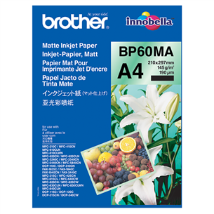 Fotopaber Brother BP60MA A4 Matt (25 tk) BP60MA