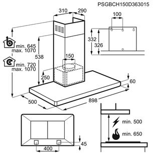 Õhupuhasti Electrolux (603 m³/h)