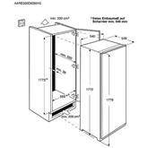 Integreeritav jahekapp Electrolux (177,2 cm)