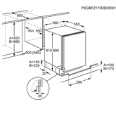 Integreeritav sügavkülmik Electrolux (98 L)