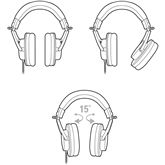 Kõrvaklapid Audio Technica M20X