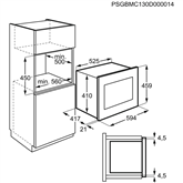 Built-in micorowave Electrolux (26 L)