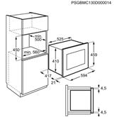 Integreeritav mikrolaineahi Electrolux (26 L)