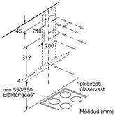 Õhupuhasti Bosch (610 m³/h)