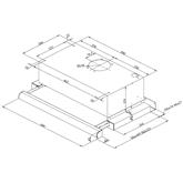 Integreeritav õhupuhasti Hansa (315 m³/h)