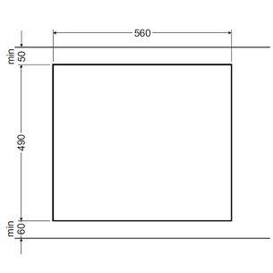 Индукционная варочная поверхность Hansa