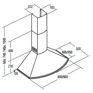 Õhupuhasti Cata Classica (645 m³/h)