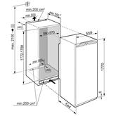 Built-in freezer Liebherr (213 L)
