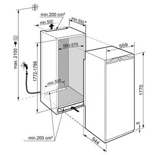 Интегрируемый морозильник Liebherr (209 л)