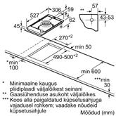 Integreeritav wok pliidiplaat Bosch