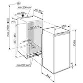 Integreeritav sügavkülmik Liebherr (157 L)