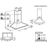 Cooker hood Electrolux (420 m³/h)