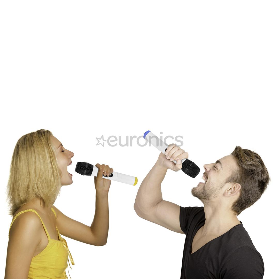 Juhtmevaba mikrofoni komplekt + saatja Trevi