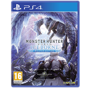 PS4 mäng Monster Hunter World: Iceborne Master Edition
