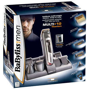 Trimming set 10in1, Babyliss