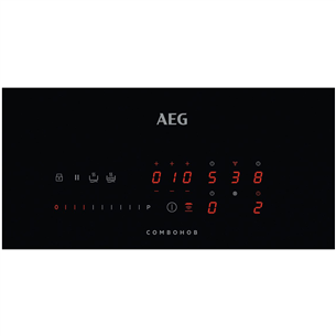 Built-in induction hob with hood AEG