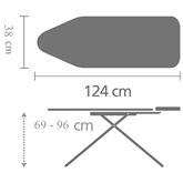 Гладильная доска Brabantia (124 x 38 см)