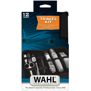 Дорожный комплект с триммером Wahl (беспроводной)