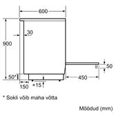 Induktsioonpliit Bosch (60 cm)