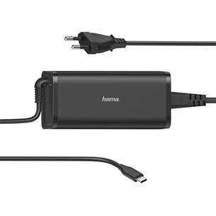 Адаптер питания для ноутбука Hama USB-C (100 Вт) 00200007