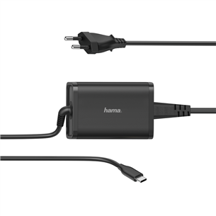Notebook power supply unit Hama USB-C (65 W) 00200006