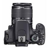Peegelkaamera EOS 600D + objektiiv EF-S 18-55mm IS II, Canon