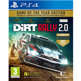 PS4 game DiRT Rally 2.0 Game of the Year Edition
