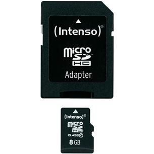 SDHC карта памяти, Intenso (8 ГБ) 3016112