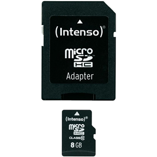 SDHC mälukaart Intenso (8 GB)
