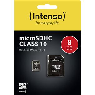 SDHC карта памяти, Intenso (8 ГБ)