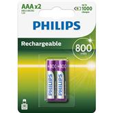 Аккумуляторные батарейки Philips AAA (2 шт)