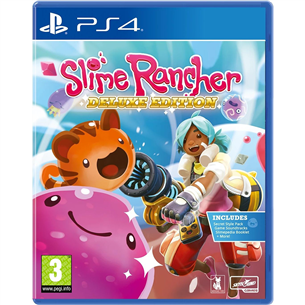 PS4 mäng Slime Rancher Deluxe Edition