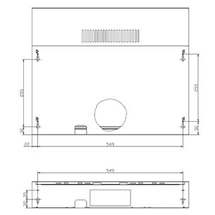 Õhupuhasti Cata (200 m³/h)