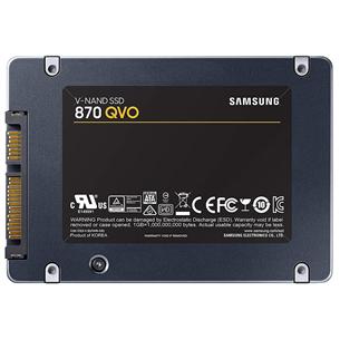 Накопитель SSD Samsung 870 QVO (2 ТБ)