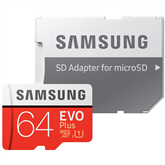 Micro SDXC memory card + adapter Samsung EVO Plus (64 GB)