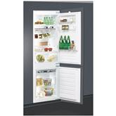 Интегрируемый холодильник Whirlpool (178 см)