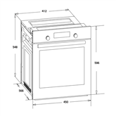 Built-in oven Schlosser
