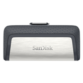 Флеш-накопитель SanDisk Ultra Dual USB Type-C (32 ГБ)