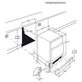 Integreeritav sügavkülmik AEG (95 L)