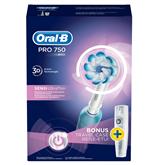 Электрическая зубная щетка Oral-B Pro 750, Braun