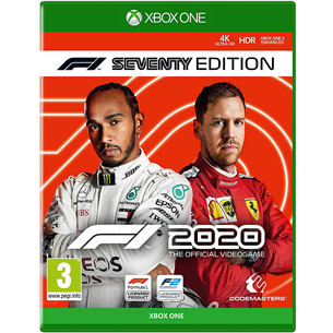 Xbox One mäng F1 2020 Seventy Edition 4020628722012