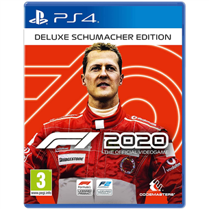 Игра F1 2020 Deluxe Schumacher Edition для PlayStation 4 4020628721930