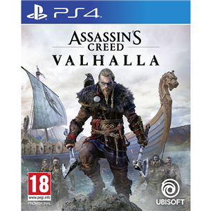 PS4 mäng Assassins Creed: Valhalla Drakkar Edition (eeltellimisel)